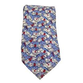 Chloé-Cravates-Bleu,Beige