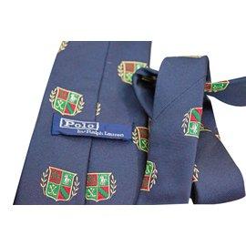 Polo Ralph Lauren-Cravates-Bleu Marine
