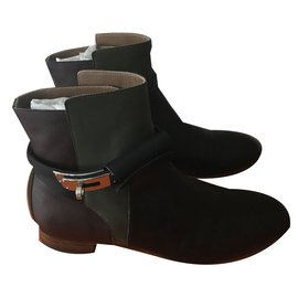 Hermès-Neo Ankle Boots-Other