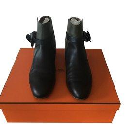 Hermès-Bottines Neo-Autre