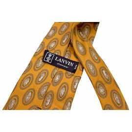 Lanvin-Cravates-Doré