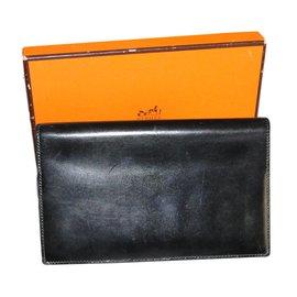 Hermès-Wallets Small accessories-Black