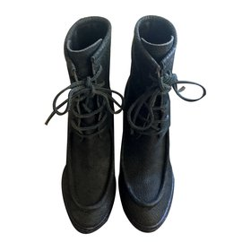 Burberry-boots Fleming-Noir