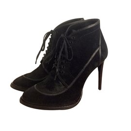 Burberry-low boots Panfield Heritage-Black