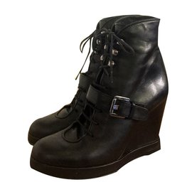 Surface To Air-Ankle Boots-Black