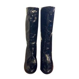 Lanvin-Boots-Black