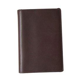 Hermès-cover of agenda-Dark brown