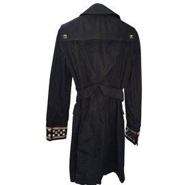 Roberto Cavalli-Trench coat-Black
