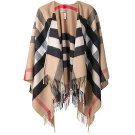 Burberry-Burberry House Check Cape-Multiple colors