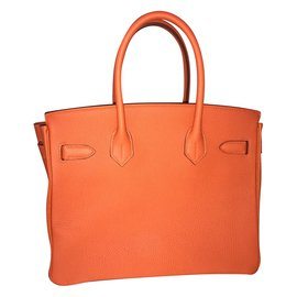 Hermès-BIRKIN 30cm TOGO-Orange