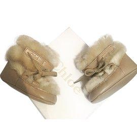 Chloé-Boots-Beige