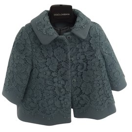 Dolce & Gabbana-Girl Coats outerwear-Blue