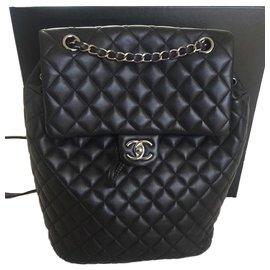 Chanel-Timeless Chanel Backpacks-Black
