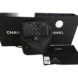 Chanel-Sac à dos Timeless Chanel-Noir
