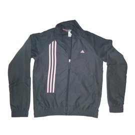 Adidas-Jogging survêtement-gris anthracite