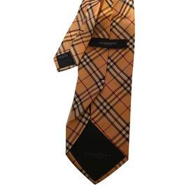 Burberry-Cravates-Multicolore