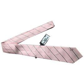 Louis Vuitton-Cravate-Rose