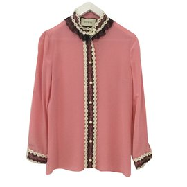 Gucci-Blouse-Rose