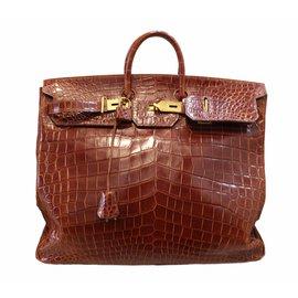 Hermès-Birkin Voyage HAC-Brown