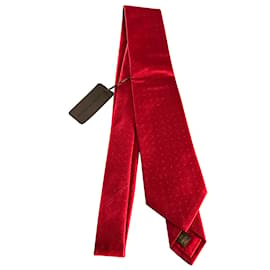 Louis Vuitton-Cravates-Rouge