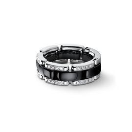 Chanel-BAGUE ULTRA CHANEL DIAMANTS-Noir