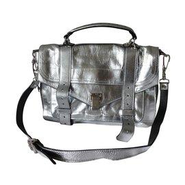 Proenza Schouler-Handbags-Silvery