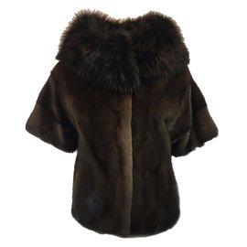 Manteau fourrure femme vison occasion