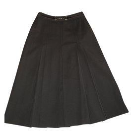 Céline-Skirts-Dark brown