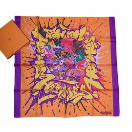 Hermès-Graff-Orange,Violet