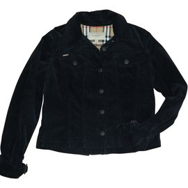 Burberry-Jackets-Black