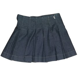 Burberry-Skirts-Navy blue