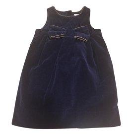 Jacadi-Dresses-Navy blue