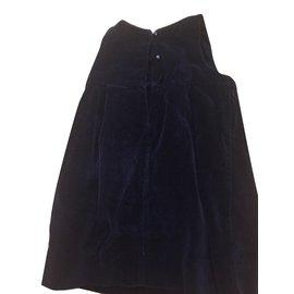 Jacadi-Robes fille-Bleu Marine