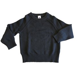 Petit Bateau-Sweaters-Navy blue