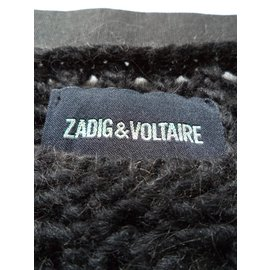 Zadig & Voltaire-PULL MANCHES LONGUES-Noir