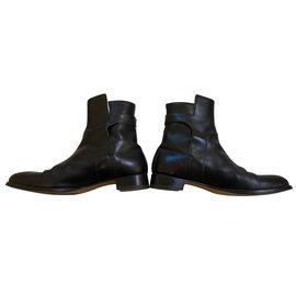 Hermès-Bottes-Noir