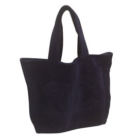 Chanel-Totes-Navy blue