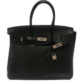 Hermès-Birkin 35-Noir