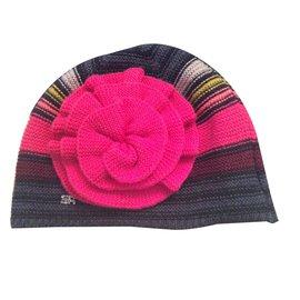 a1500c7dace4 Sonia Rykiel-Bonnet rykiel rayé à fleur-Multicolore ...