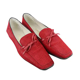 Chanel-Flats-Red