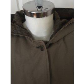 Burberry-Waterproof overcoat-Brown
