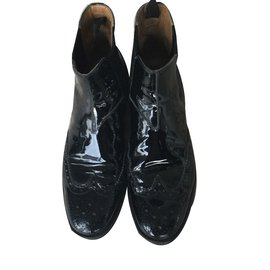 Church's-Ankle Boots-Black