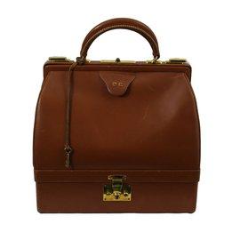 Hermès-sac bijoux-Marron