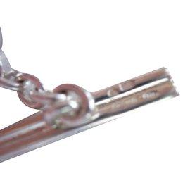 Gucci-Gucci bracelet avec fermoir toggle-Argenté