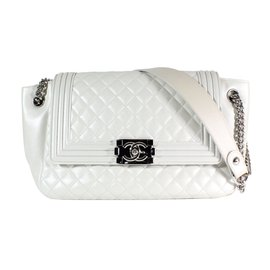 Chanel-Handbags-White