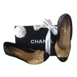 Chanel-Bicolore double CC-Beige