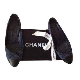 Chanel-Marine double CC-Bleu Marine
