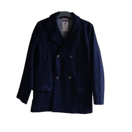 Petit Bateau-Boy Coats Outerwear-Navy blue