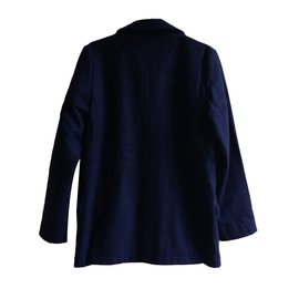 Petit Bateau-Blousons, manteaux garçon-Bleu Marine