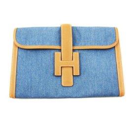 Hermès-Jige-Bleu,Caramel